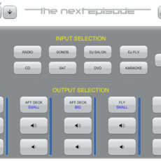 New iPad Crestron App
